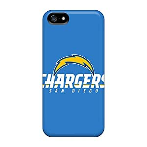 Durable Case For The Iphone 5/5s- Eco-friendly Retail Packaging(san Diego Chargers)