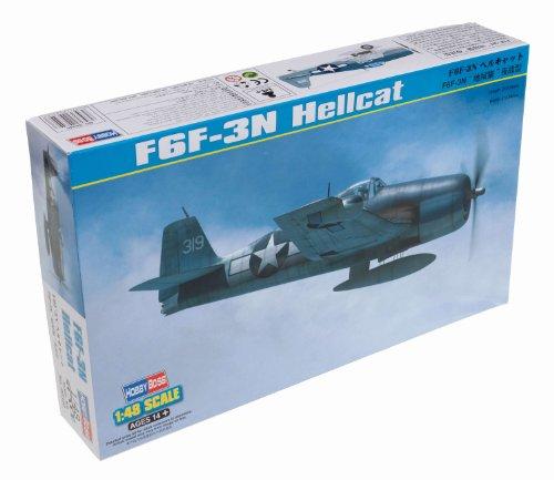 Hobby Boss F6F-3N Hellcat Airplane Model Building Kit