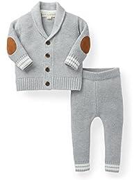 Layette Cardigan and Sweater Leggings Set