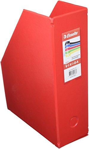 ESSELTE Bo/îte de classement pliable PVC A4 Maxi Dos de 10 cm Noir