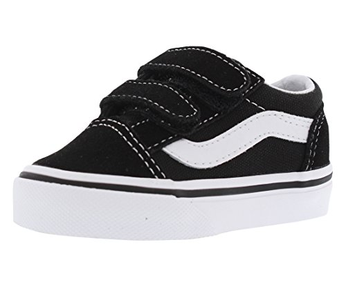 Vans Boys' Old Skool V-K, Black 10 M -