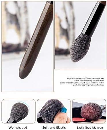 15 Großmutter Grau Make-up-Pinsel-Set Ultra Soft Faser-Haar-Foundation Puder Lidschatten Mischen Pinsel professionelle bewegliche Schönheits-Werkzeuge Frauen