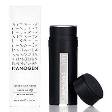 Nanogen Keratin Hair Fibers,, 30-grams, Medium Brown