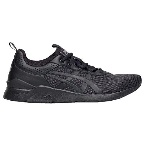 Asics Mens Gel-Lyte Runner Black Leather Trainers 8 US