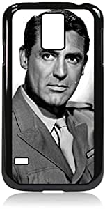 Cary Grant- Hard Black Plastic Snap - On Case with Soft Black Rubber LiningGalaxy s5 i9600 - Great Quality!