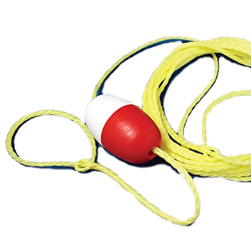 Kiefer Ring Buoy Throw Line, 30 Feet, 1/4-Inch Diameter Polyethylene Rope (Rope Polyethylene)