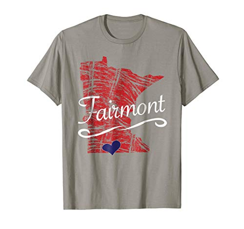 Fairmont MN TShirt | Cute Adult Youth Tee - City State