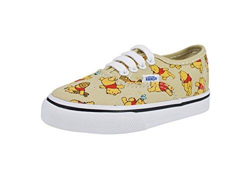 Vans Authentic Disney Shoes Winnie The Pooh Cute Infant/Toddlers Sneakers (9) - Baby Sneakers Vans