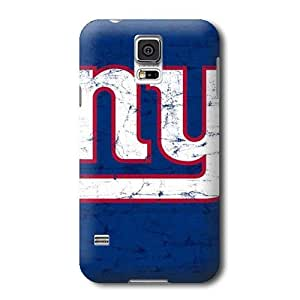 S5 Case,NFL New York Giants Pattern Samsung Galaxy S5 Covers,Durable Hard Case Covers
