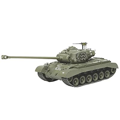 Tamiya Models US Tank T26E4 Super Pershing Model Kit: Toys & Games