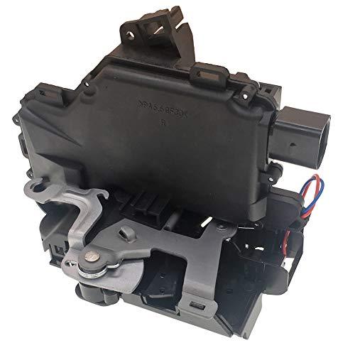 YCT Door Lock Latch Actuator 3B4839016A Rear Right Hand Passenger Side Fits Volkswagen VW Beetle Golf GTI Jetta Passat Rabbit (6 PIN)