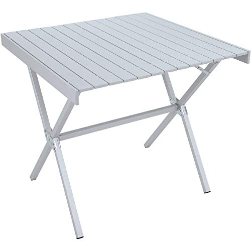 ALPS Mountaineering Square Junction Table Anodized Aluminum, One Size Alps Mountaineering Camp Table