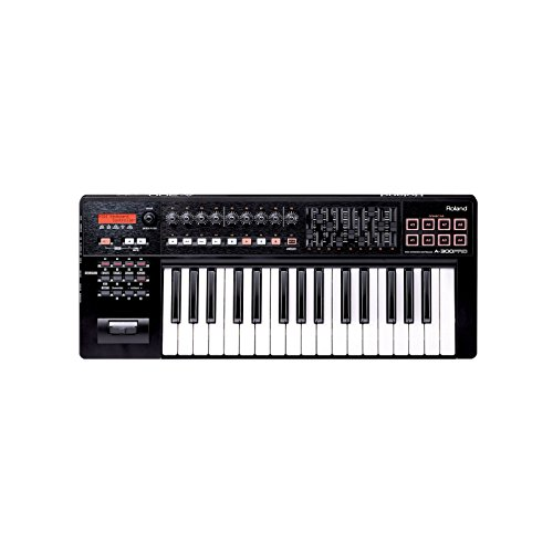 Roland A-300PRO-R | Compact 32 Key MIDI Keyboard Controller by Roland