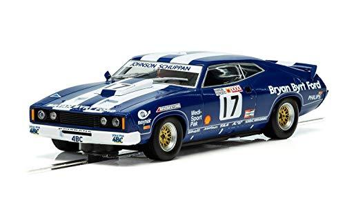 (Scalextric C3923 Ford XC Falcon- Bathurst 1978 1:32 Slot Race Car, Blue)