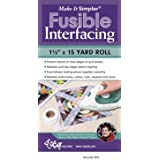 "Make It Simpler Fusible Interfacing-1-1/2""X15 Yards"