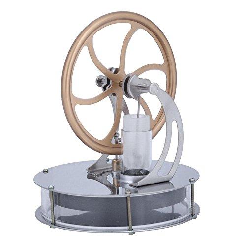 koulate Stirling Engine, Mini Live Steam Engine Model Education Toy Kits DIY ()
