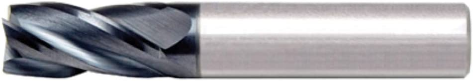 Alfa Tools SC60627AL 15//32X1//2 4 Flute Single End Center Cutting AlTiN Carbide End Mill Made In USA,