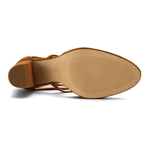 Marc Fisher Shellie Women Us 8.5 Tan Heels