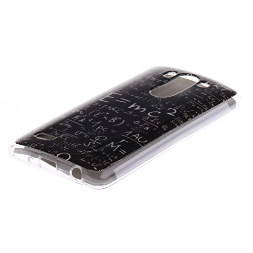 LG G3 Mini Funda,Ligero a Prueba de Choques Flexible Ultra Fino Suave TPU Parachoque Carcasa MAGQI Tecnología IMD Diseño Impreso Vendimia Serie Patrón [Absorción de Impacto] Resistente a los Arañazos  Mates