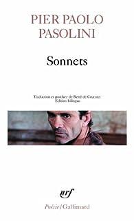 Sonnets par Pier Paolo Pasolini