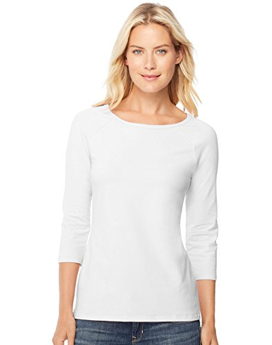 Hanes Womens Stretch Cotton Raglan product image