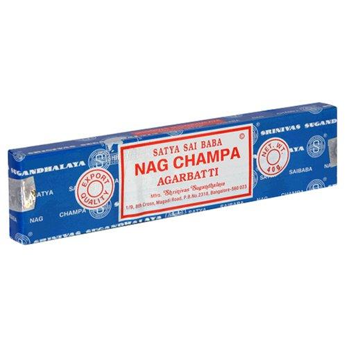Satya Sai Baba Nag Champa Agarbatti, 40 g (Pack of 12)