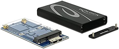DeLOCK 42569 SSD Enclosure Negro, Gris Caja para Disco Duro ...
