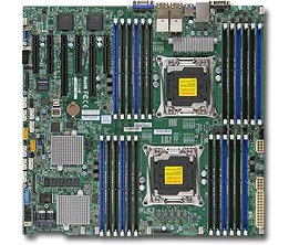 Supermicro X10DRC-LN4+ motherboard with full manufacturer warranty 1.5 Tb Pro Quad
