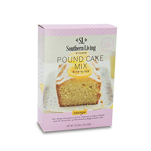 Gourmet Pound Cake Mix - Orange Pound Cake Mix from Southern Living - Rich, Moist, Buttery, Tangy, Sweet Pound Cake with Glaze