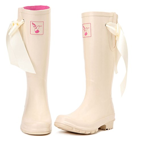 Gumboots Brand Boot Rain UK Wellies Evercreatures Milky Tall Rain Original Women's Boots I4gWOz