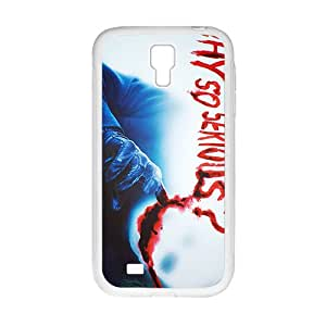 Personalized Why So Serious Custom White Phone Case For Samsung Galaxy S4