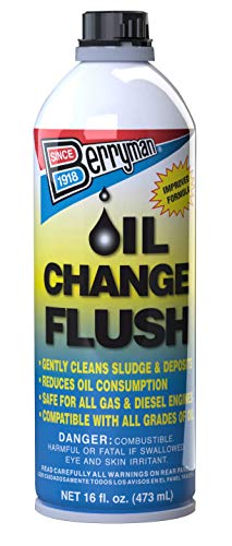 Berryman Products 1216 Change Flush Compatible with Conventional and Synthetic Oils, Pour Can 16 fl.oz Fluid_Ounces (Best Diesel Engine Flush)
