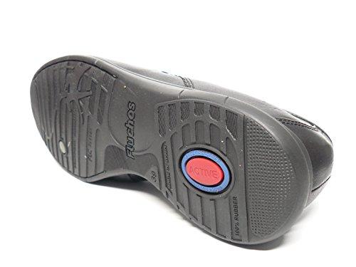 9379 65n1 Color Hombre Negro Elasticos Fluchos Zapato Piel Casual Laterales En fw4vzO