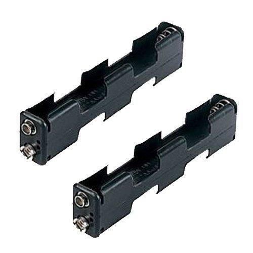 Garrett Two Pack AA Battery Holder for GTA, GTAx, GTX, GTP & GTI Metal Detector (Gti Garret)