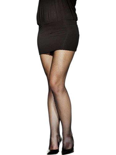 Punk Rocker Chick Costume (Fever Women's Fishnet Tights, Black, One Size, 5020570427941)