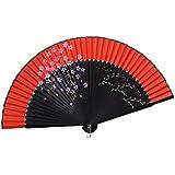 Elegant Hand Fan Portable Folding Fan Carved Handheld Fan Chinese Fans #21