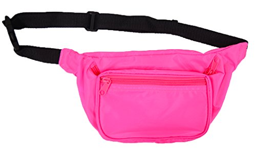 Neon Pink Fanny Pack by BAM - many other colors