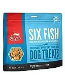 ORIJEN Freeze-Dried Dog Treats, Six Fish, Biologically Appropriate & Grain Free