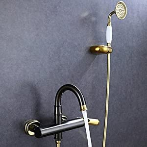 MEI Shower Faucet Antique Handshower Included Brass Oil-rubbed Bronze 60%OFF