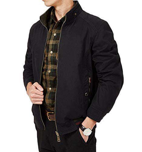 Autumn Cotton Wear Casual Jacket Both And Warm Men's Thick Coat Winter Black On Outdoor Sides qwCYxS