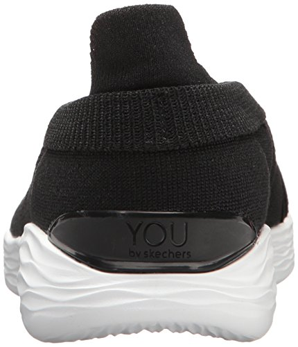 Skechers Damen You-Luxe Slip On Sneaker Schwarz