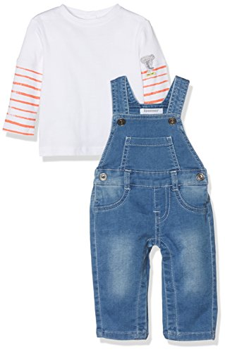 3 Pommes Funny Story Cool Overalls 2pc Set (12-18 Months)