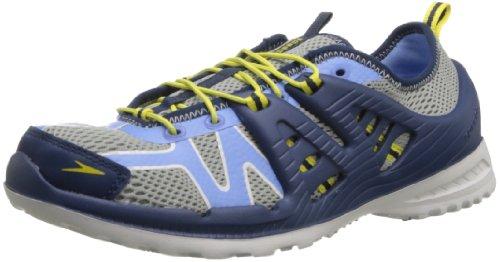 Speedo Women's TRBZ Amphibious Lace-Up Water Shoe,Neutral Grey/Provence,6 M US