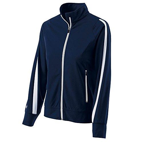 Holloway–determinación chaqueta Azul marino/Blanco