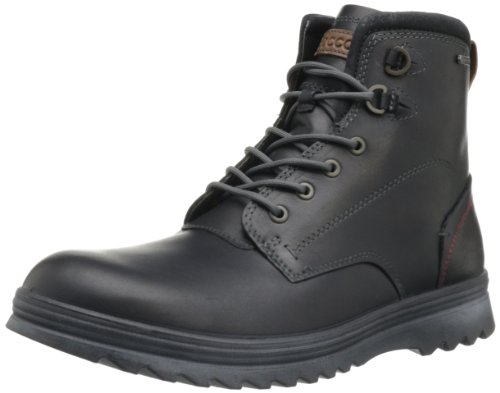 ECCO Men's Darren Plain Toe Boot,Black,46 EU/12-12.5 M (Ecco Plain Boots)