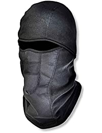 N-Ferno 6823 Winter Balaclava Ski Mask, Wind-Resistant Face Mask, Thermal Fleece, Black