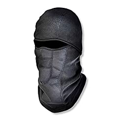 FULL FACE COVERAGEThis winter balaclava is made with high quality thermal fleece that protects head, face, nose and neck from the cold. The 4-way stretch polyester and long length can comfortably fit most sized heads of both men and women. Perfect fo...