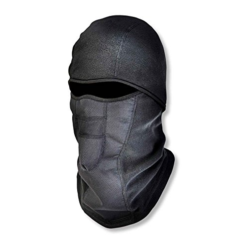 - Ergodyne N-Ferno 6823 Winter Balaclava Ski Mask, Wind-Resistant Face Mask, Thermal Fleece, Black