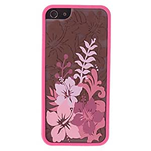 DUR Floral Pattern 2 in 1 Bumper and Back Case for iPhone 5/5S