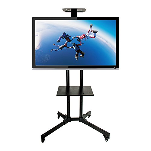 32 65 Inches Flat Screen Mobile Tv Mount Stand Tv Cart
